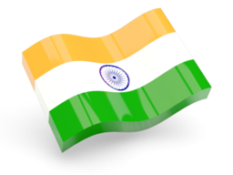 India flag - factasia.org