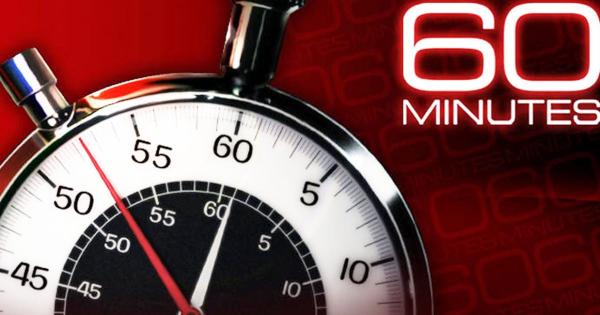 The latest Tweets from 60 Minutes 60Minutes The most successful news magazine in TV history offering hardhitting investigative reports interviews feature