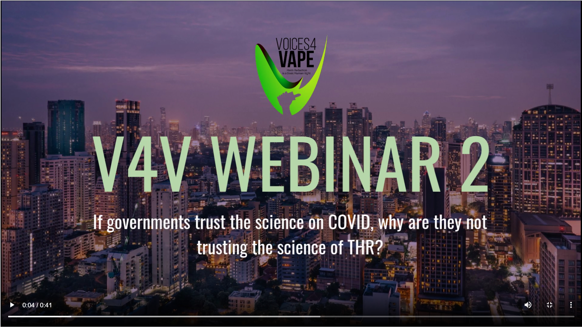 voices4vape webinar 2